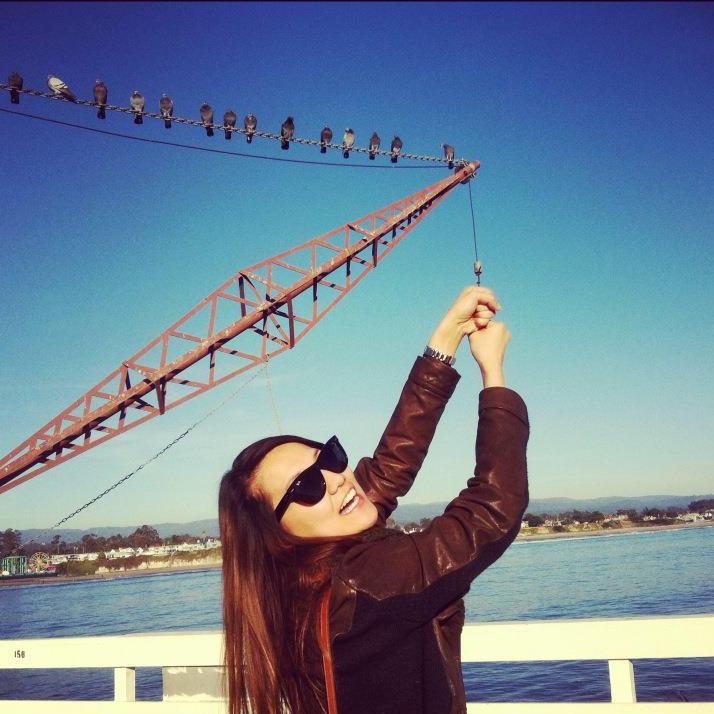 Just hangin' around in Santa Cruz