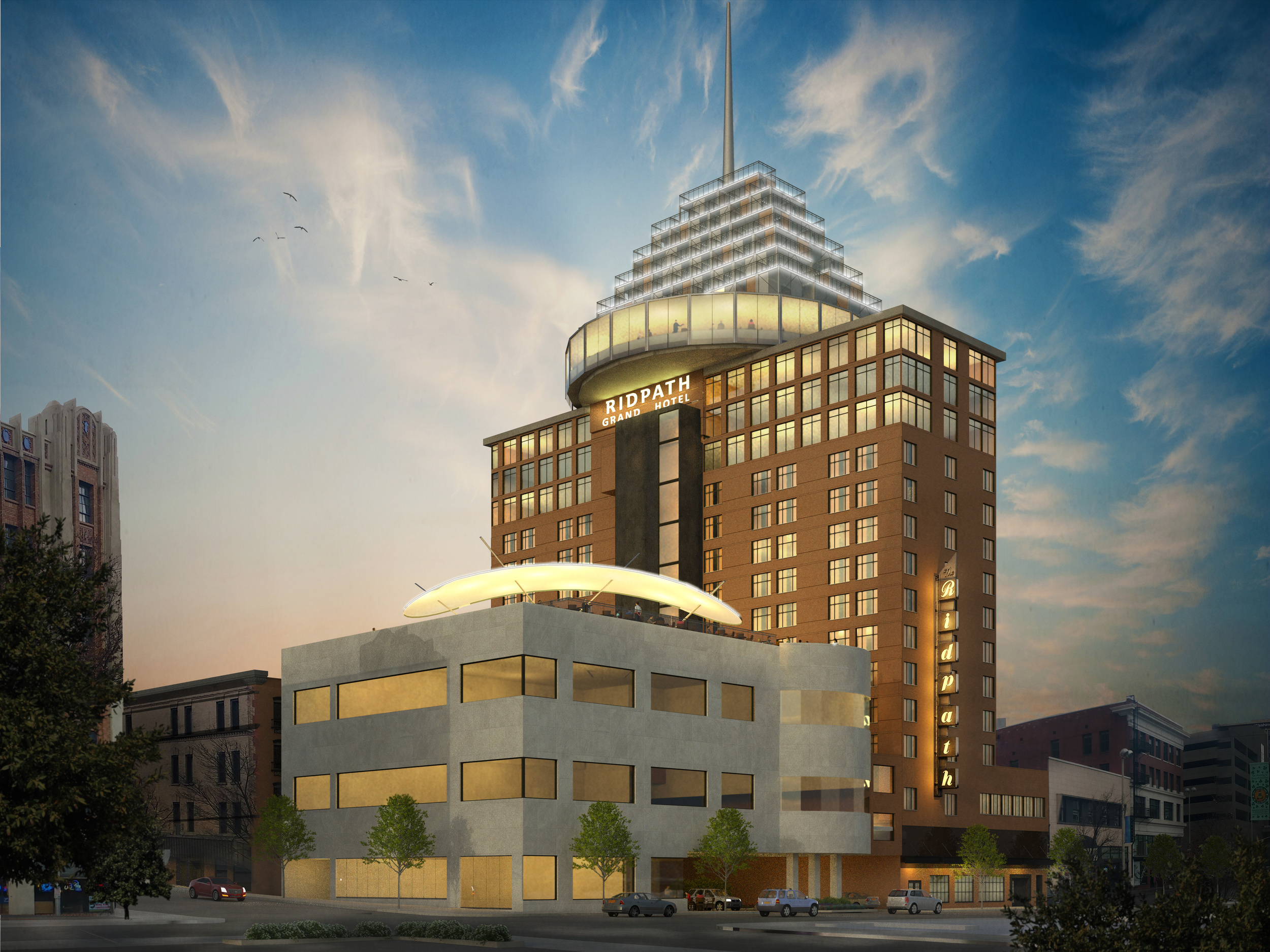 Ridpath Hotel Addition and Remodel
