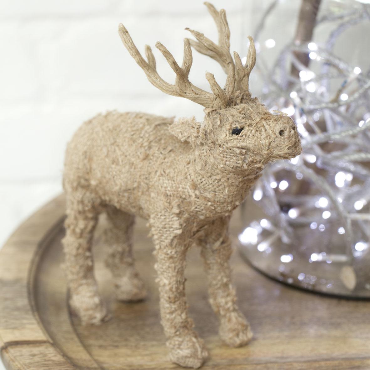 Jute Reindeer by Dassie Artisan