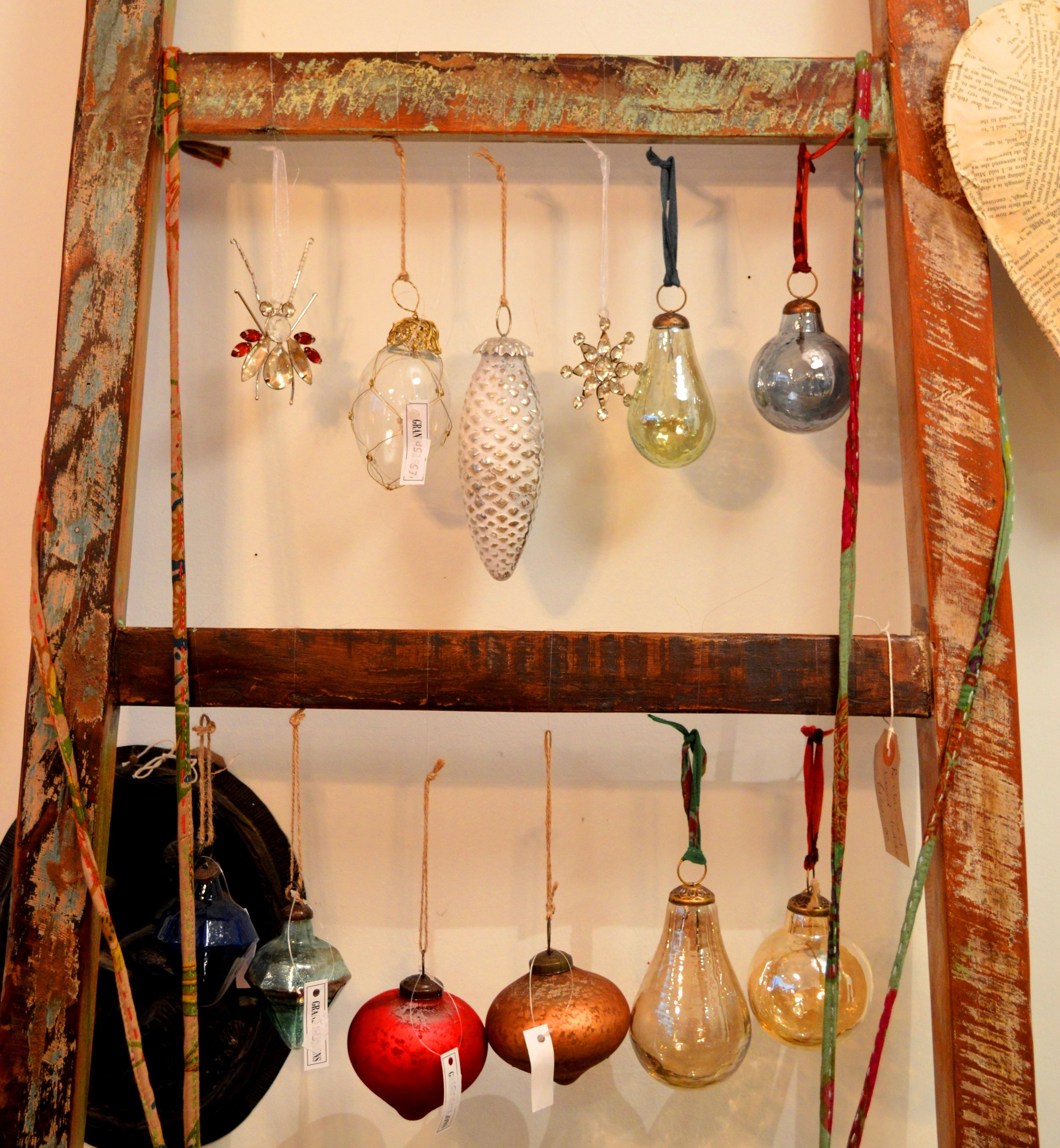 Christmas Baubles - Prices range from £3.95 - £14.95