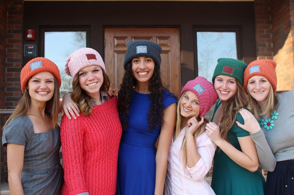 University of Iowa Love Your Melon - an apparel brand run by college students across the country on a mission to give a hat to every child battling cancer in America