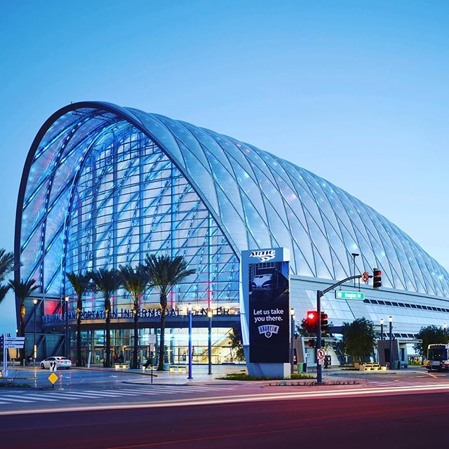 This week the ARTIC transportation hub opened in Anaheim, California. Its openness and lightness is created by ETFE pillows and it is by all accounts a stunning achievement as a new central hub for the city. The project brings together many avenues of public transit with an ability to accommodate future transportation strategies, such as the enigmatic California High Speed Rail. If the aim was to create a milestone to signify a new chapter in the history of a city, we think this one hit the mark. It is great to see more lightweight tensile architecture play a role in California.  Architects: HOK  Image: © John Linden  Source: http://www.archdaily.com/615466/anaheim-regional-transportation-intermodal-center-hok  #ARTIC #Station #LEED #LEEDplatnum #Anaheim #California #OC #OrangeCounty #Architecture #Future #Amtrak #TensileArchitecture #TensileEngineering #TensileMembraneArchitecture #nextarch #LightweightArchitecture #GreenBuilding #Efficiency #Energy #next_top_architects @next_top_architects