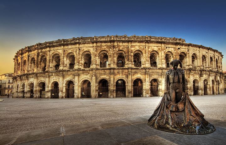 Image Source: Wolfgang Staudt from Saarbruecken, Germany - http://www.flickr.com/photos/53074617@N00/2363559406 Arena of Nîmes, France. CC BY 2.0 Front Image: Schlaich Bergermann & Partner
