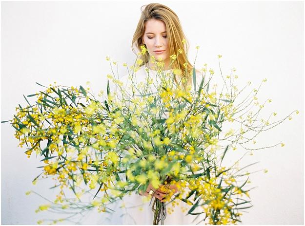 wild flowers wedding inspiration