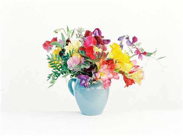 organic flowers wedding