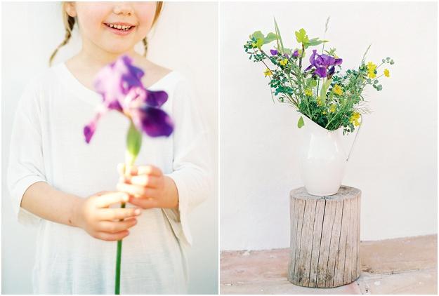organic wild floral design