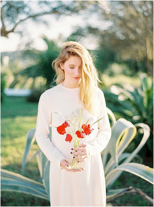 Wedding poppy flowers Ibiza