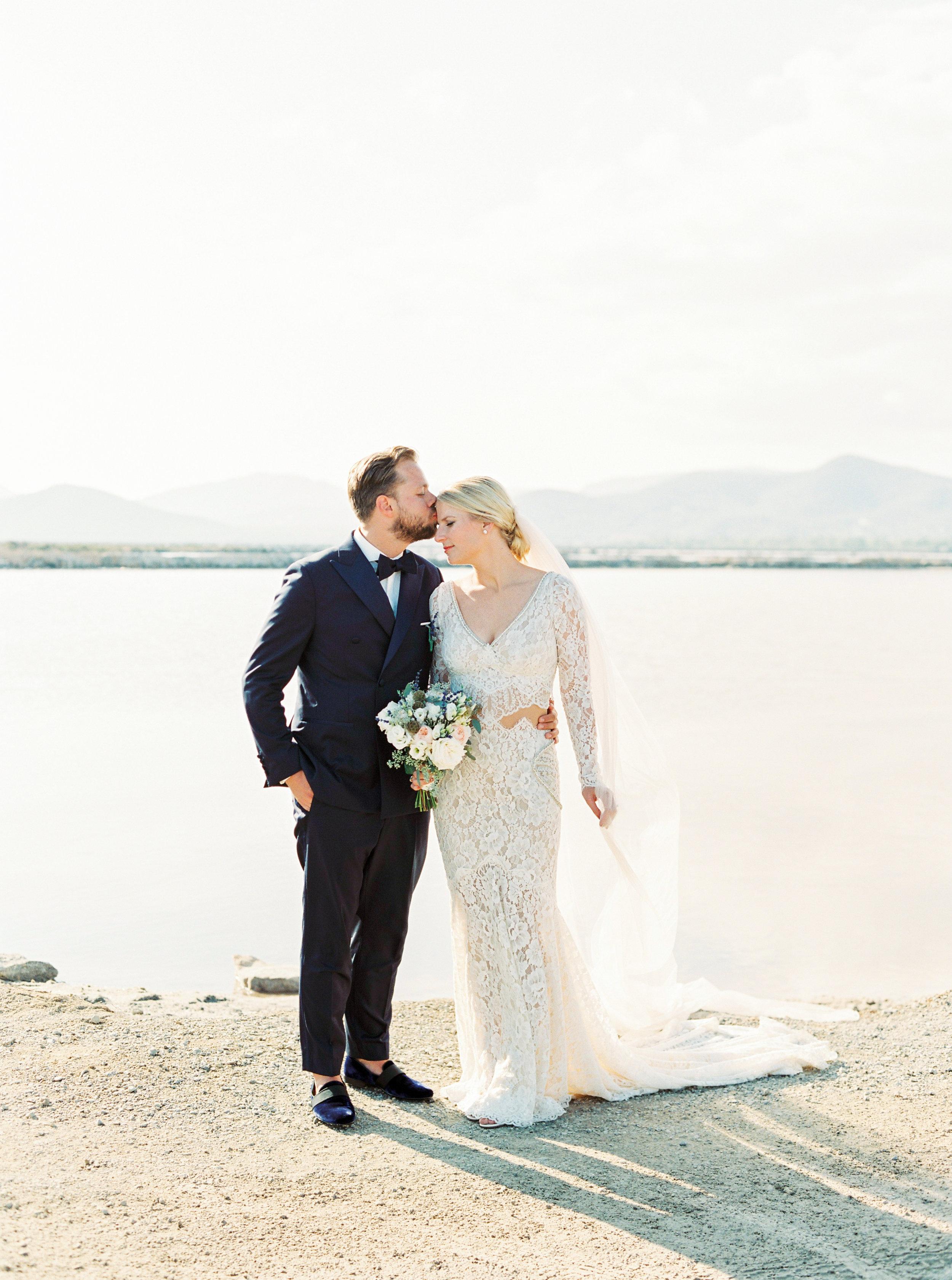 Ibiza Luxury Wedding Stylish Bride and Groom