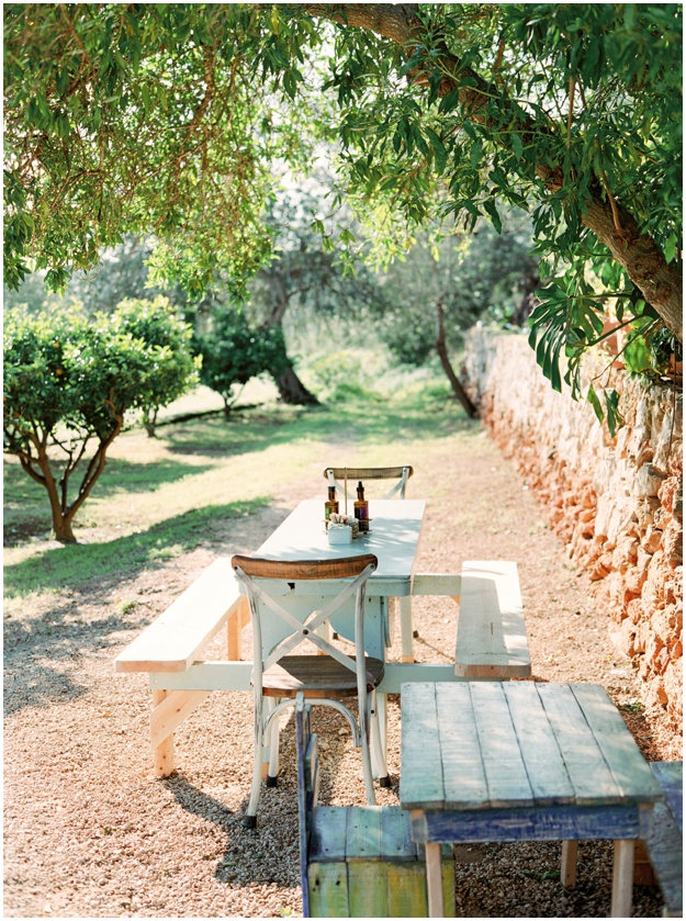 garden restaurant La Paloma Ibiza