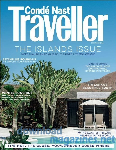 Conde Nast Traveller the islands issue