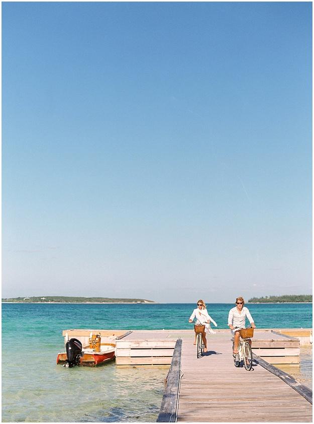 Harbour Island engagement session wedding bahamas