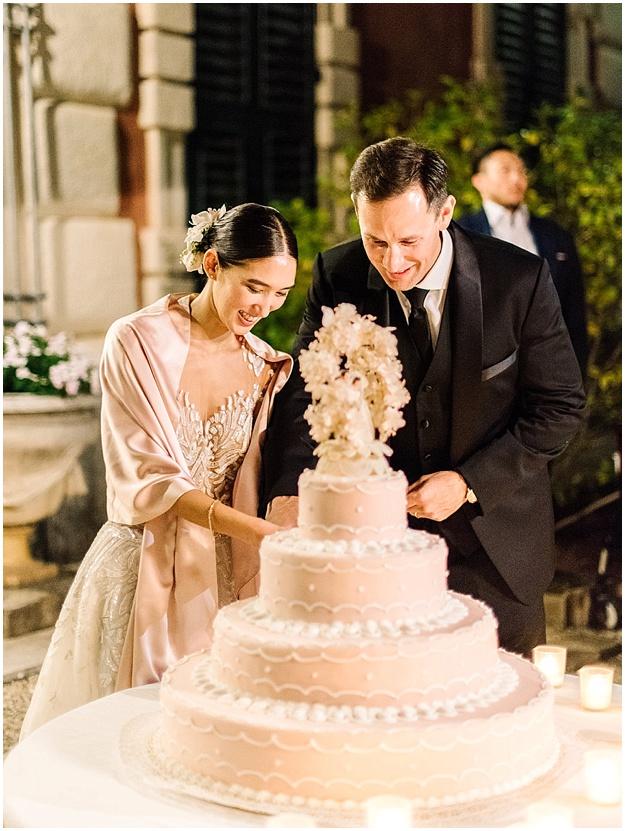 Portofino_Italy_Wedding_Cake_Cutting