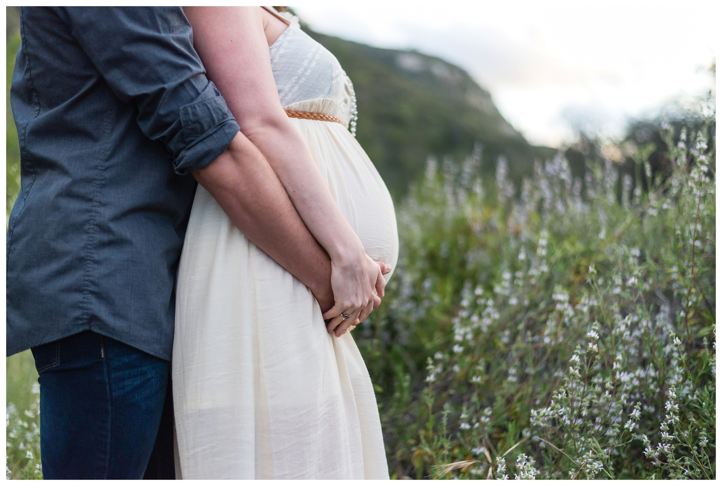 san marcos photographer   maternity portraits   elfin Forest
