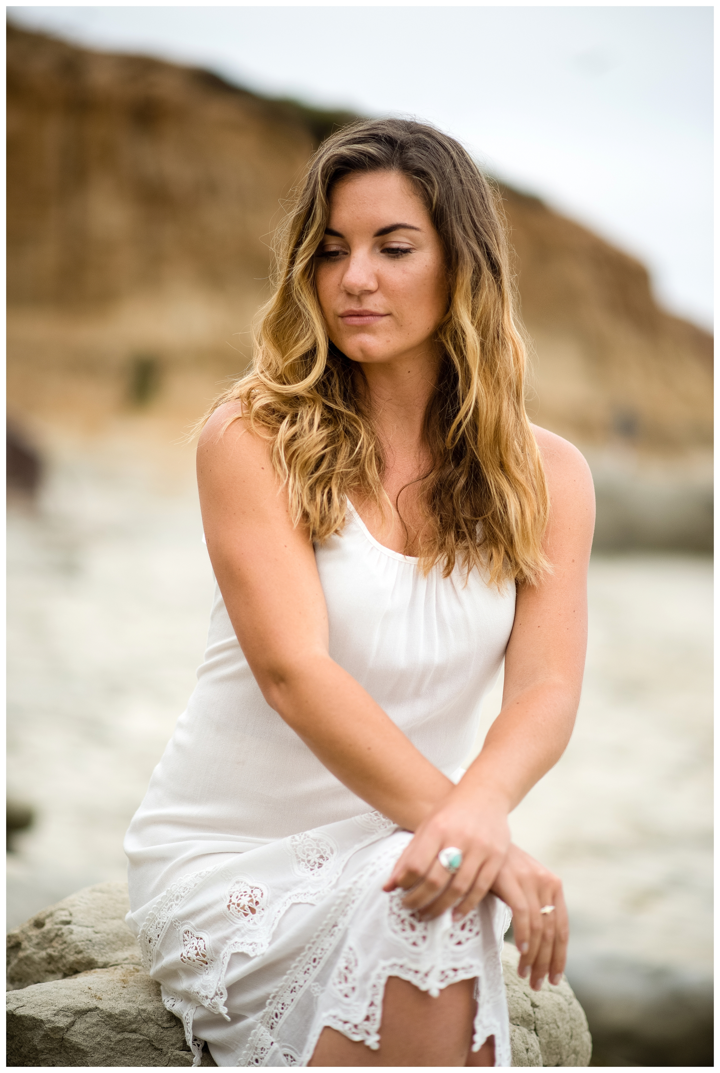 San Diego Portrait Photography | Terramar Beach