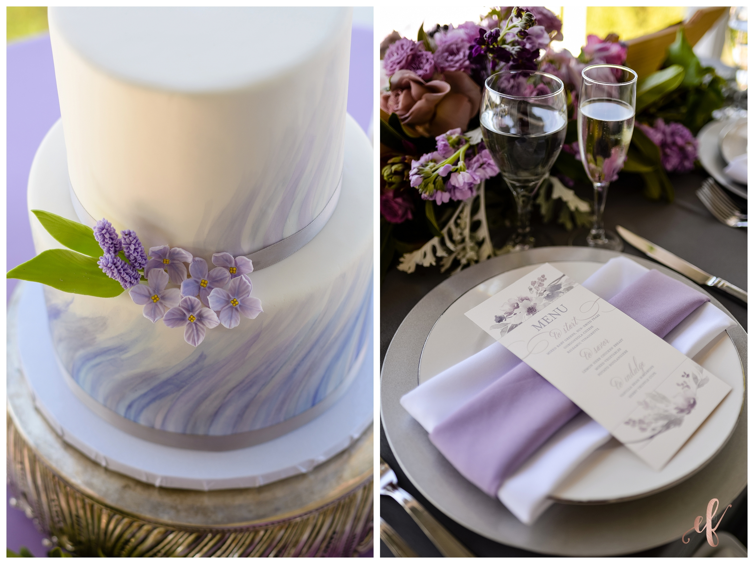 San Diego Wedding Photographer | Lila Canyon Estate | Ernie & Fiona Photography | Jenny Wenny Cakes | Paper Scissors Print