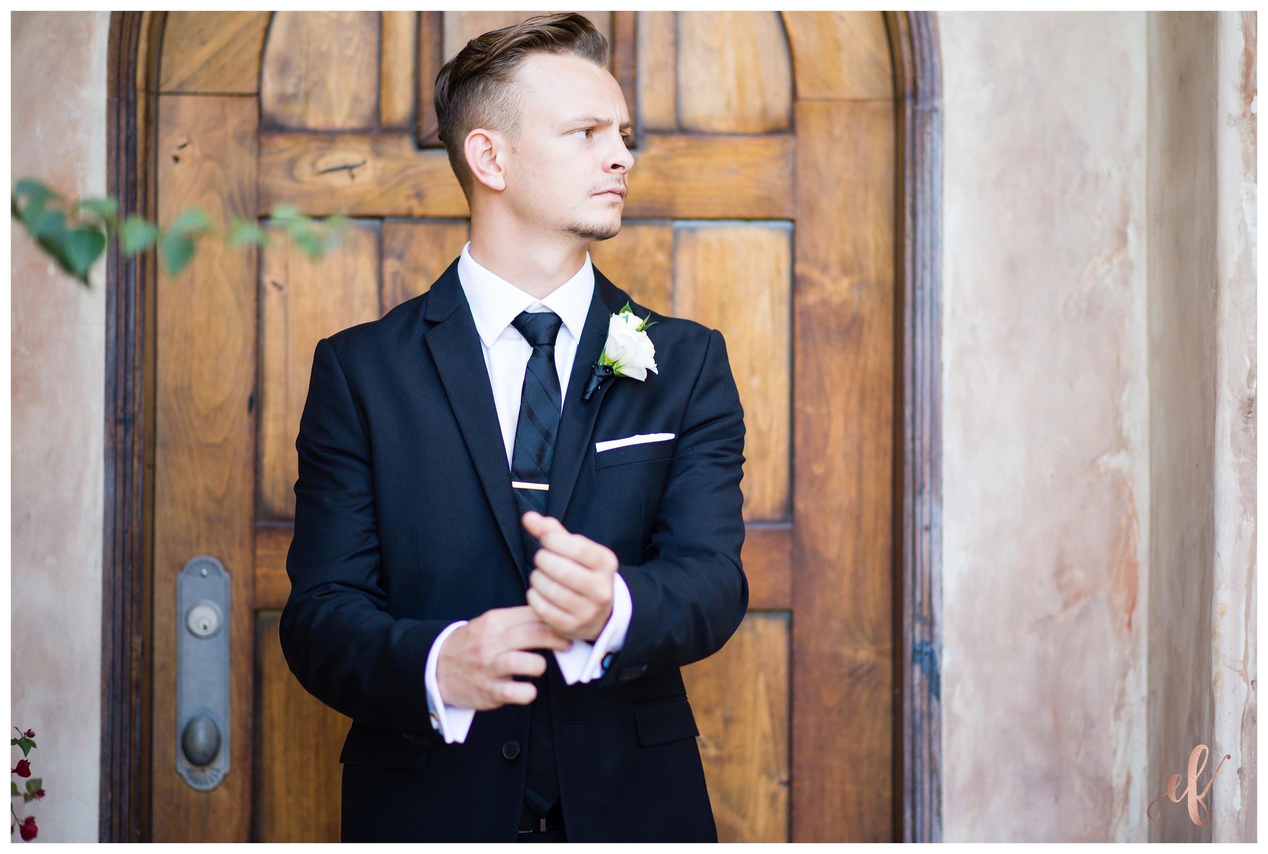 San Diego Wedding Photography | Groom | Rock Pose