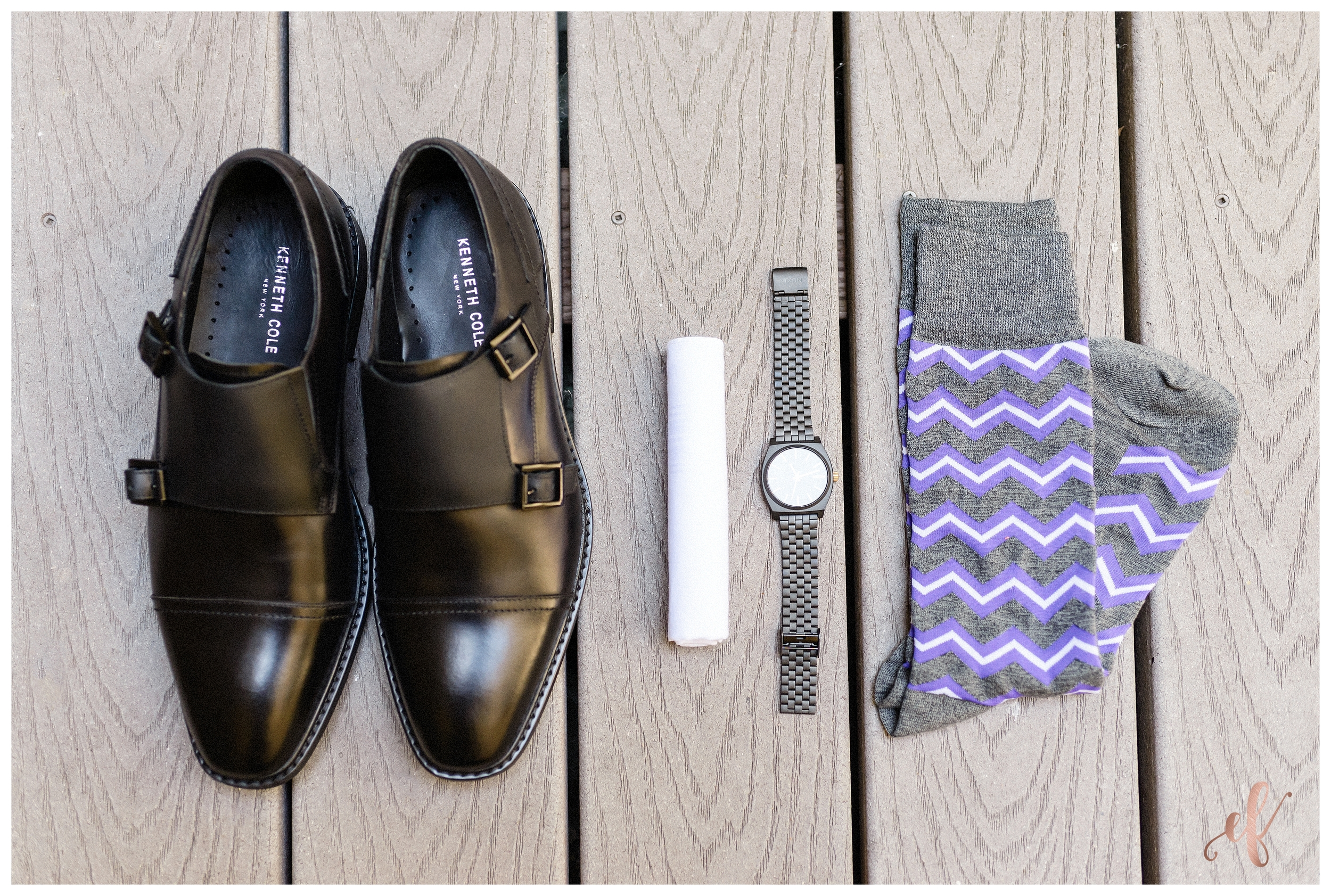 Ernie & Fiona Photography   Groom Setup   Shoes   Watch   Socks
