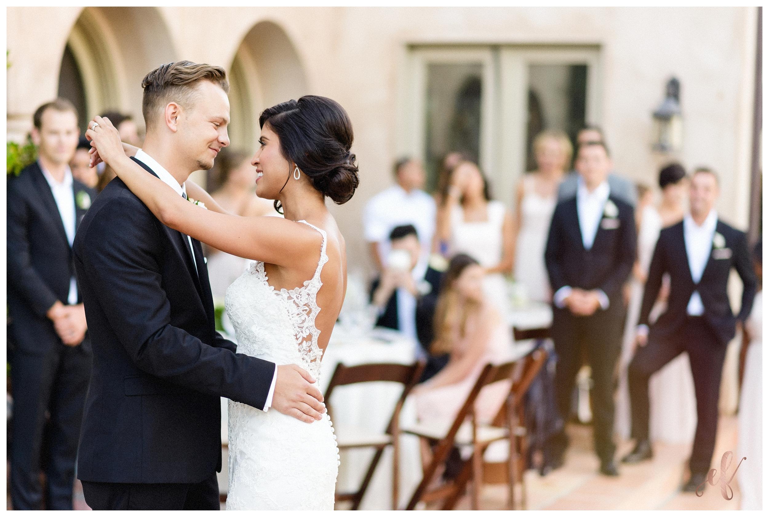 San Diego Wedding Photographer   Ernie & Fiona Photography   Bride   Groom   First Dance