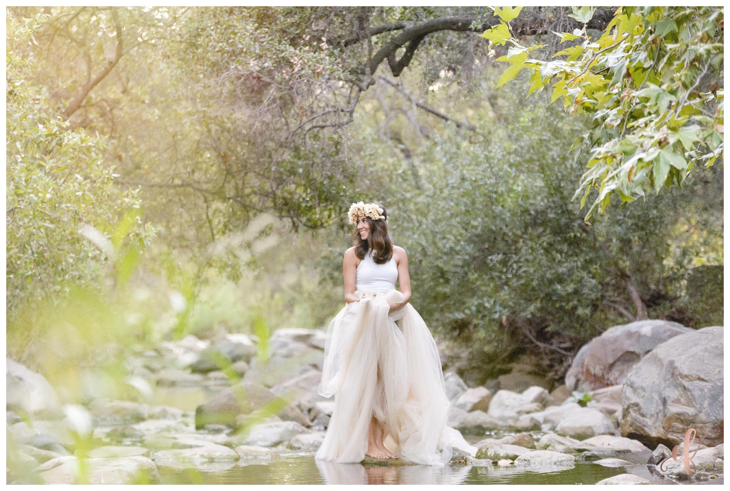 San Diego Portrait Photography   Elfin Forest   Tulle Skirt