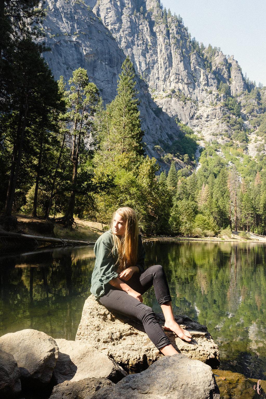 San Diego Senior Portrait Photography | Yosemite | San Marcos High School