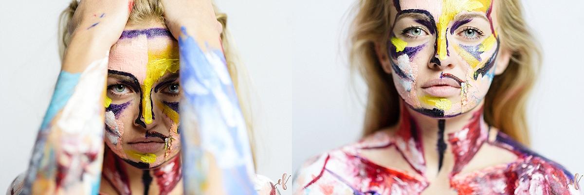San Diego Portrait Photographer   Human Canvas   Paint Portrait