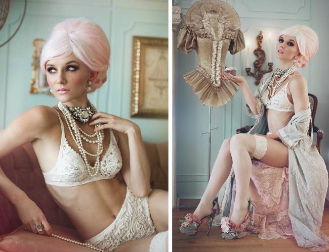 Marie Antoinette Styled Photoshoot