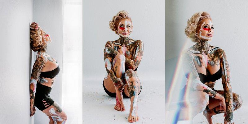 San Diego Portrait Photography | Ernie & Fiona | Reese Hilburn | Paint