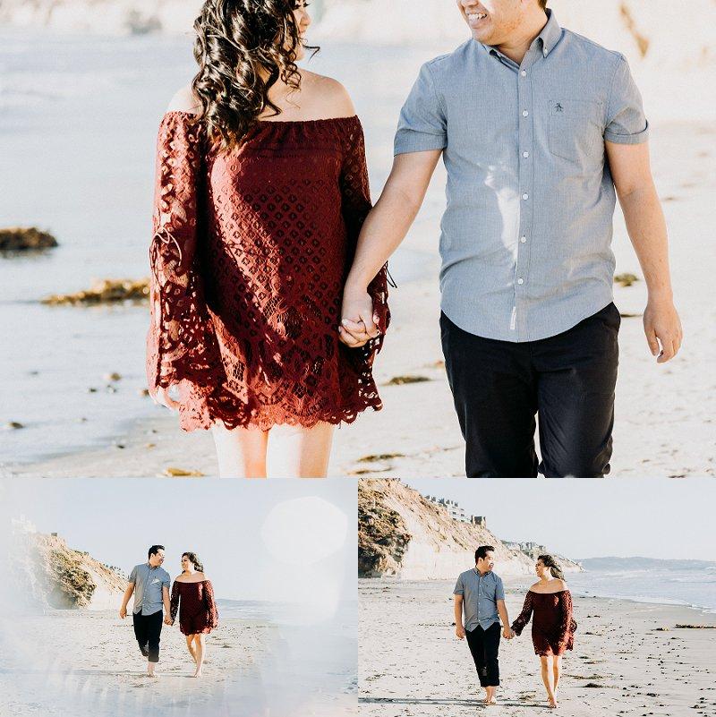 San Diego Engagement Photography  | Solana Beach | Fletcher Cove | Ernie & Fiona