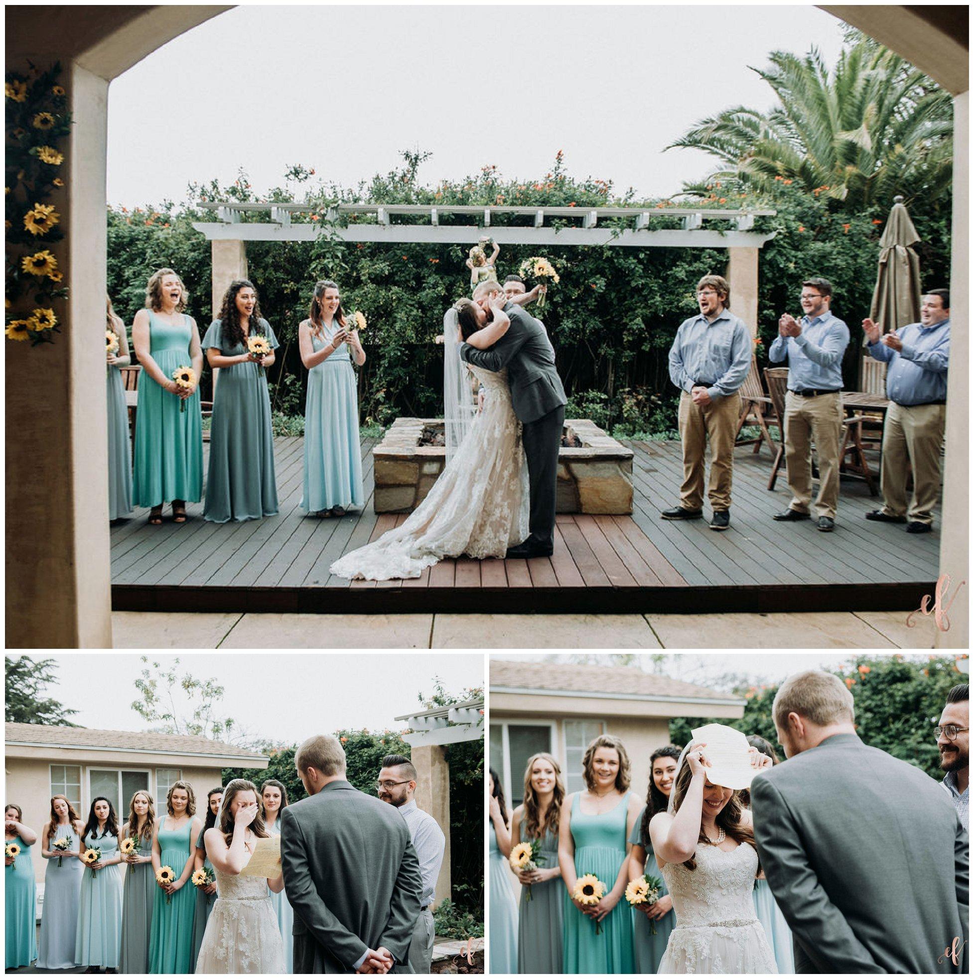San Diego Wedding Photography | Encinitas | Backyard Wedding