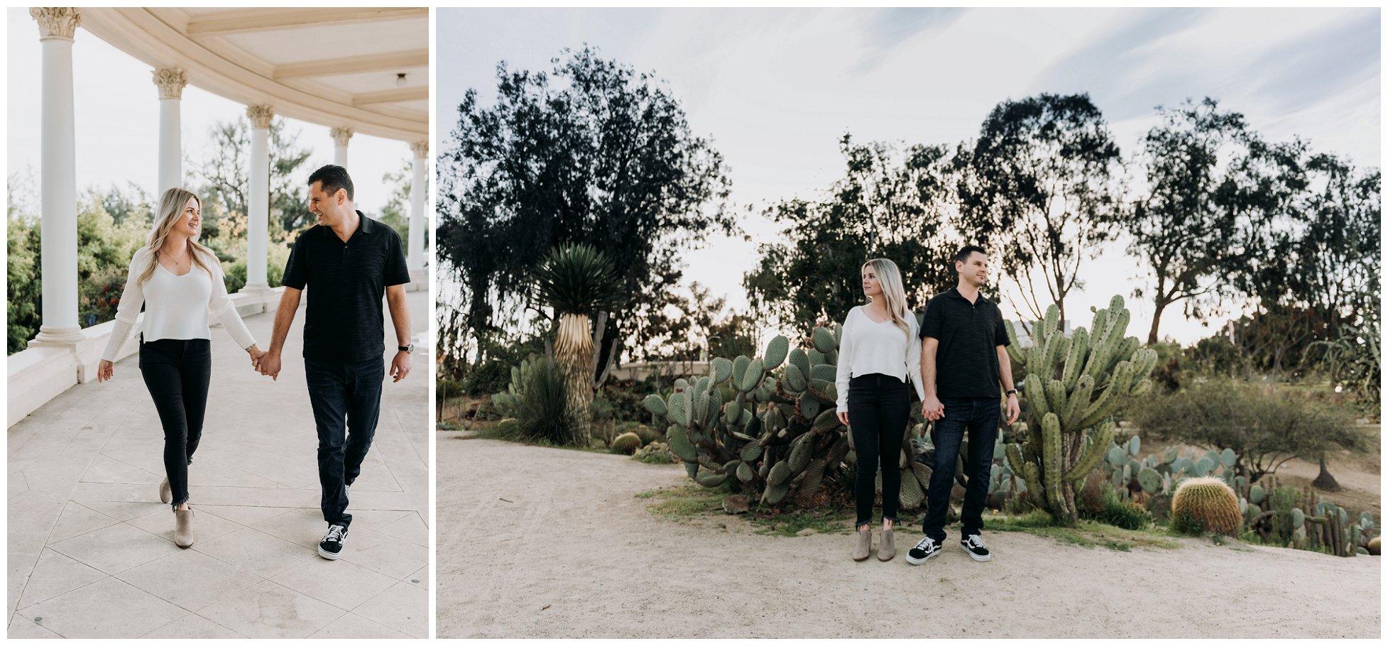 San Diego Engagement Photography | Balboa Park | Adrienne + Nik
