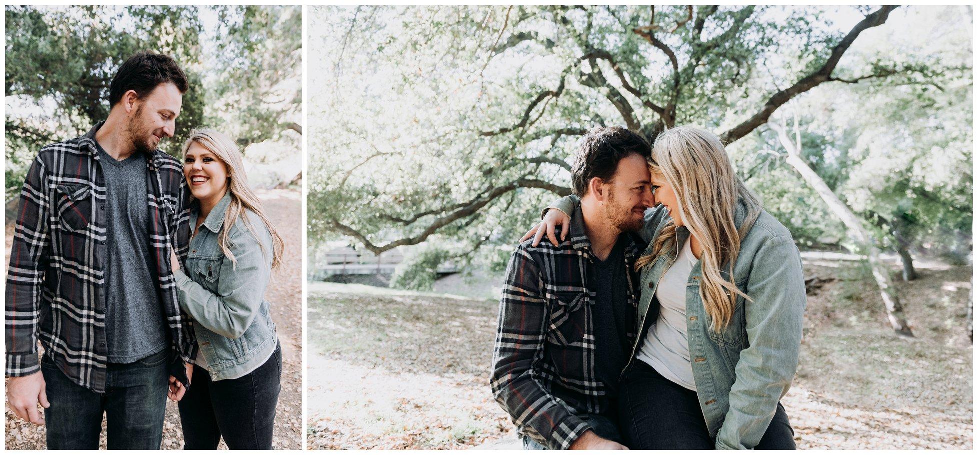 Chevy Bel Air | Flinn Springs Engagement Photography | San Diego