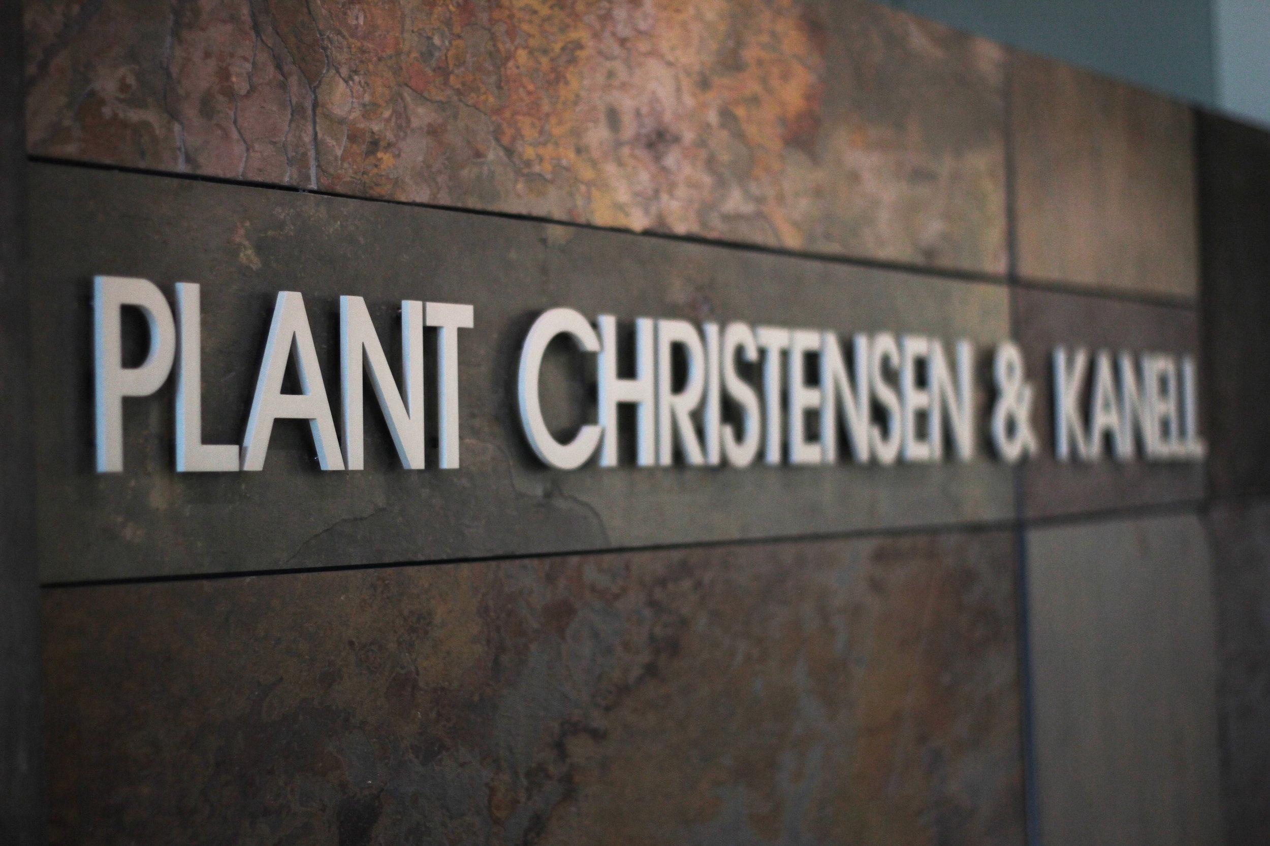Newsroom — Plant Christensen & Kanell
