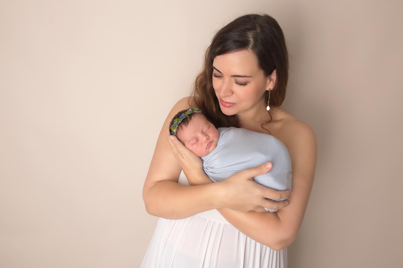 mom and baby boca raton newborn
