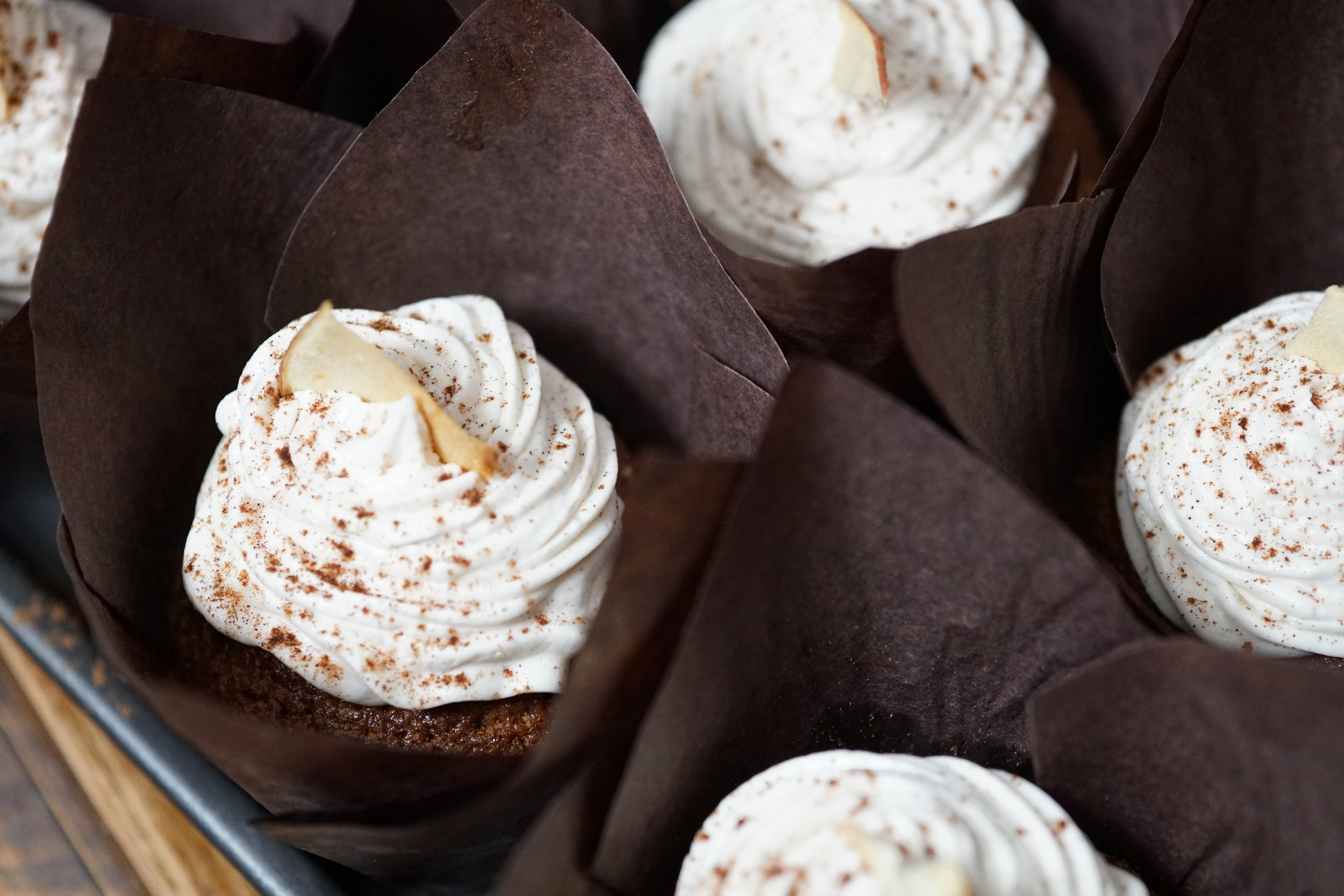 Hennessey Apple Cupcakes