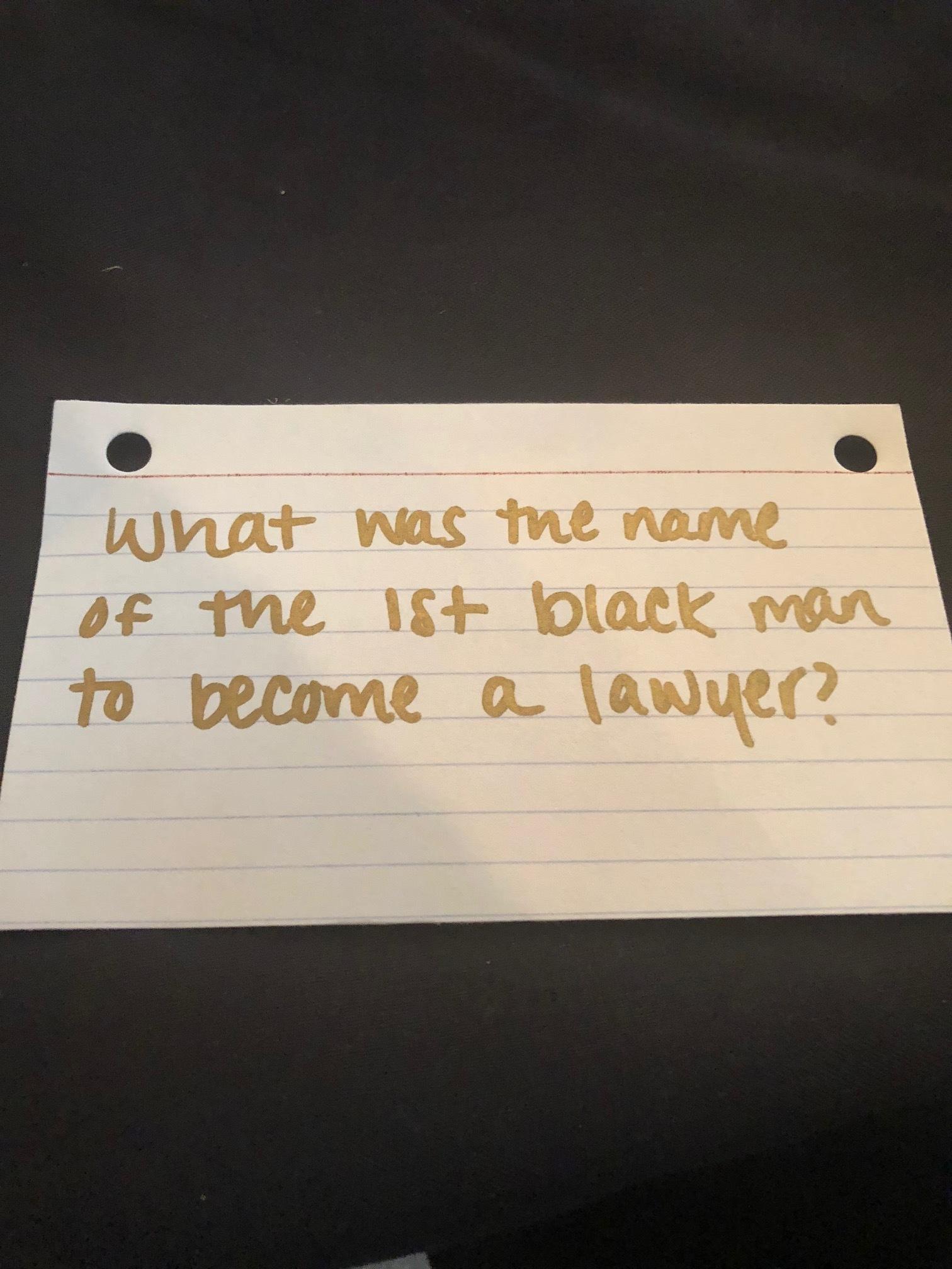 Black History Trivia during brunch :)