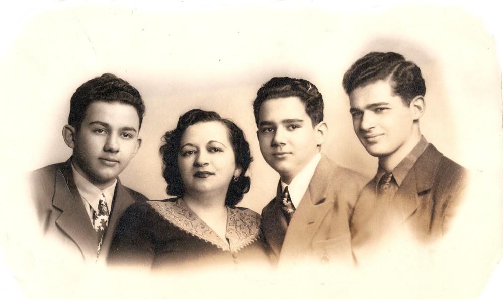 Albert, Rachel, Arthur and David Rudolph