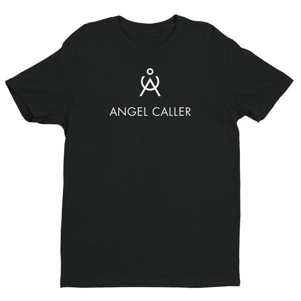 Angel Caller Men's Black Cotton Tee