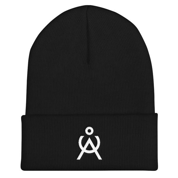 Angel Caller Black Knit Cap