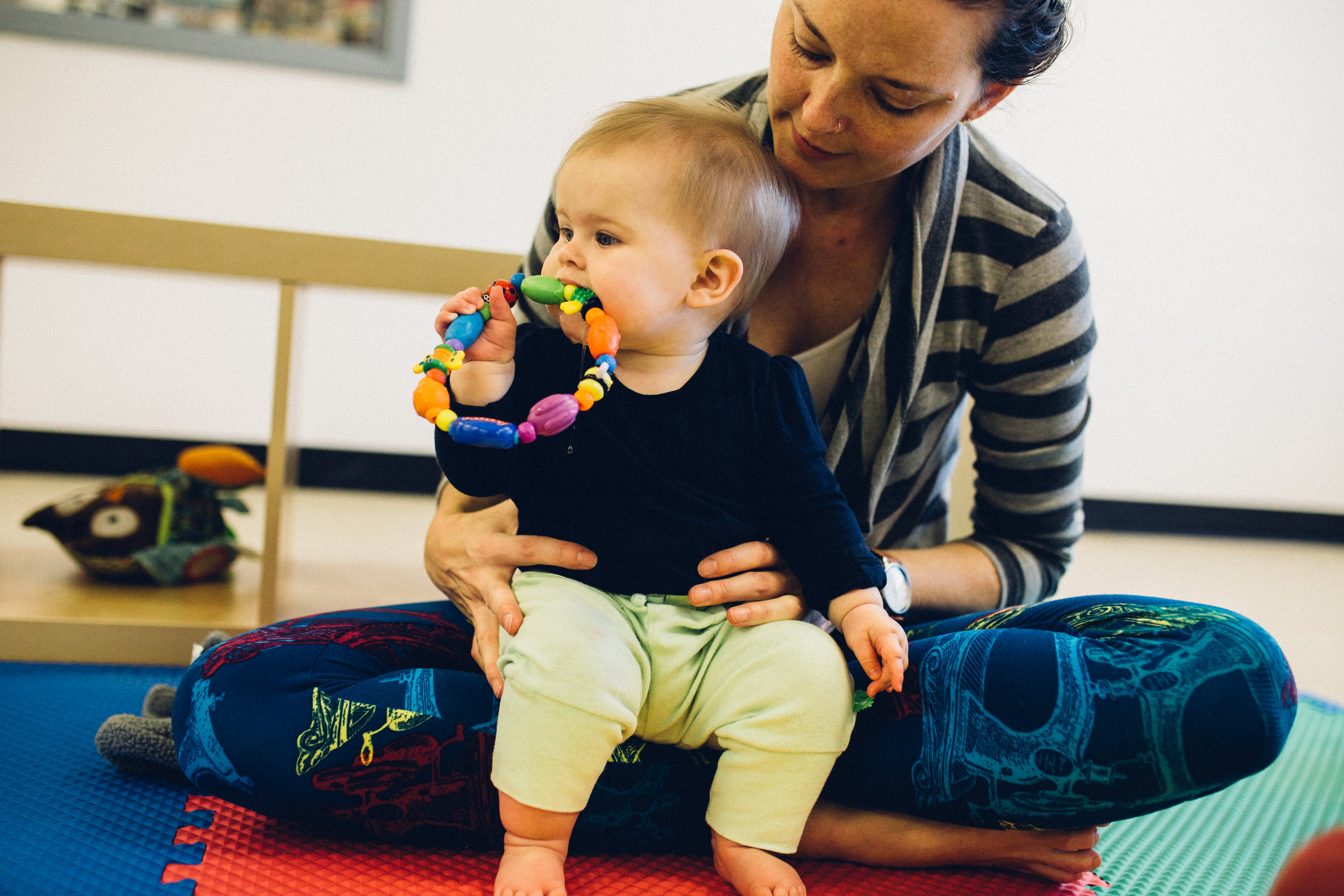 Pediatric physical therapy services to maximize each child's potential