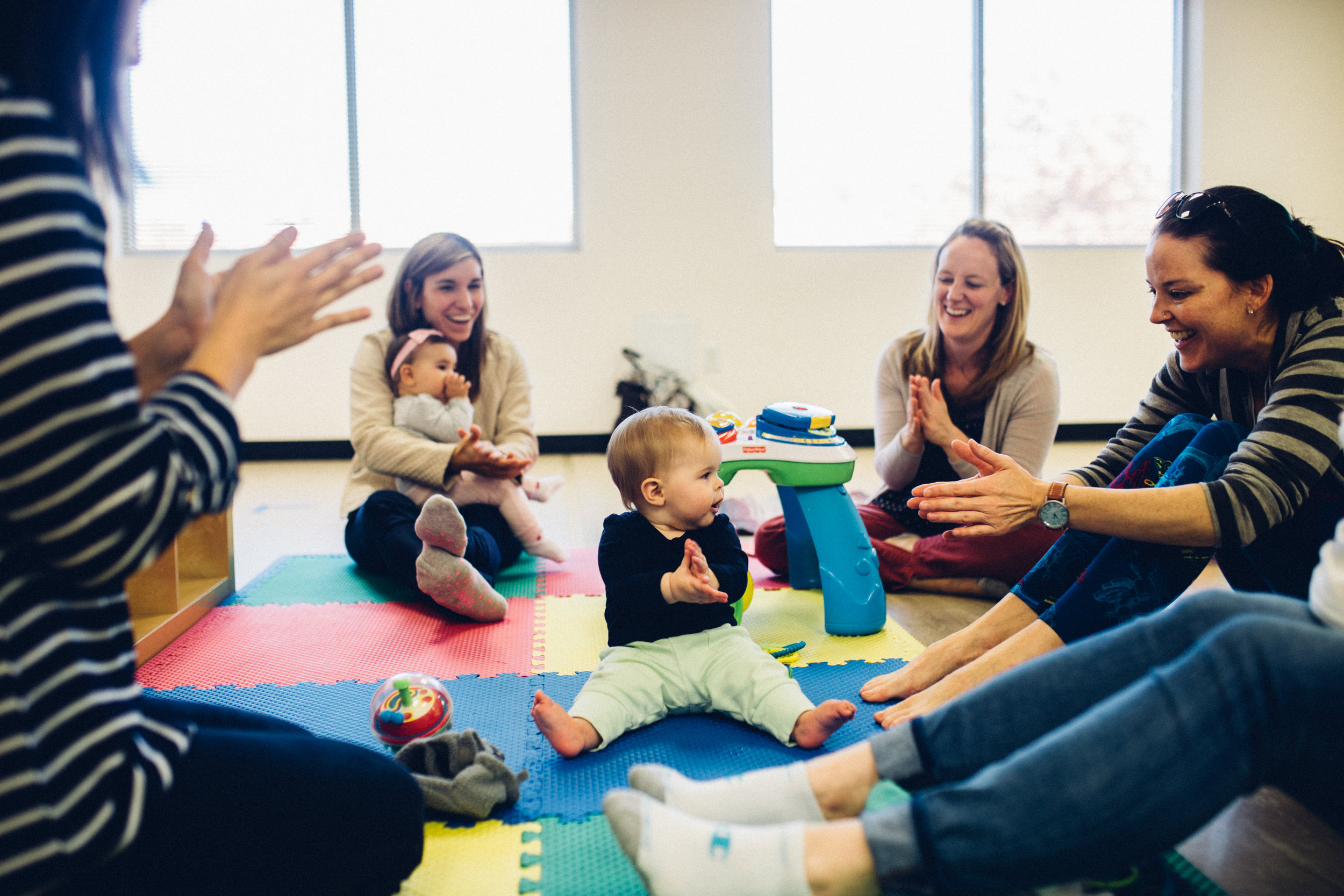 Activities for babies in the triangle area of North Carolina