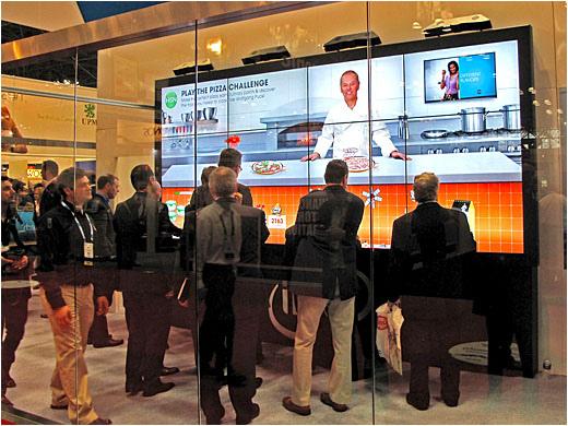 Directional Speakers for Videowalls