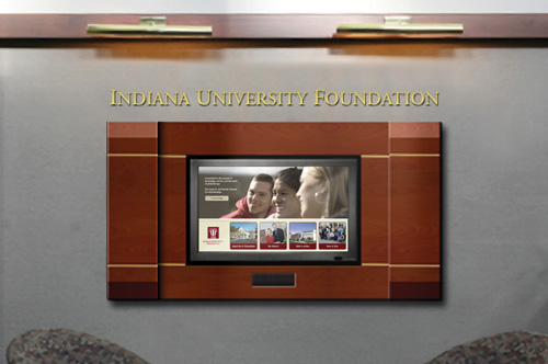 Visitor Center at Indiana University