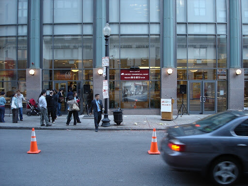 Outdoor directional speakers for Retail and Sidewalk, Boston