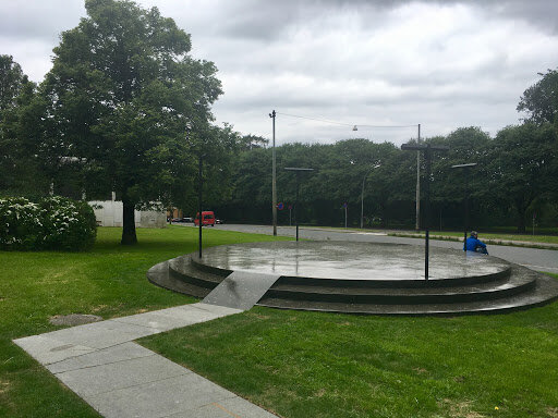 Outdoor directional speakers for Parks and Recreation. Norway