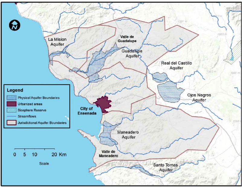 Pre-Feasibility Assessment of a Water Fund for the Ensenada Region Infrastructure and Stakeholder Analyses  Josué Medellín-Azuara, Leopoldo Mendoza-Espinosa, Chantelise Pells, and Jay R. Lund