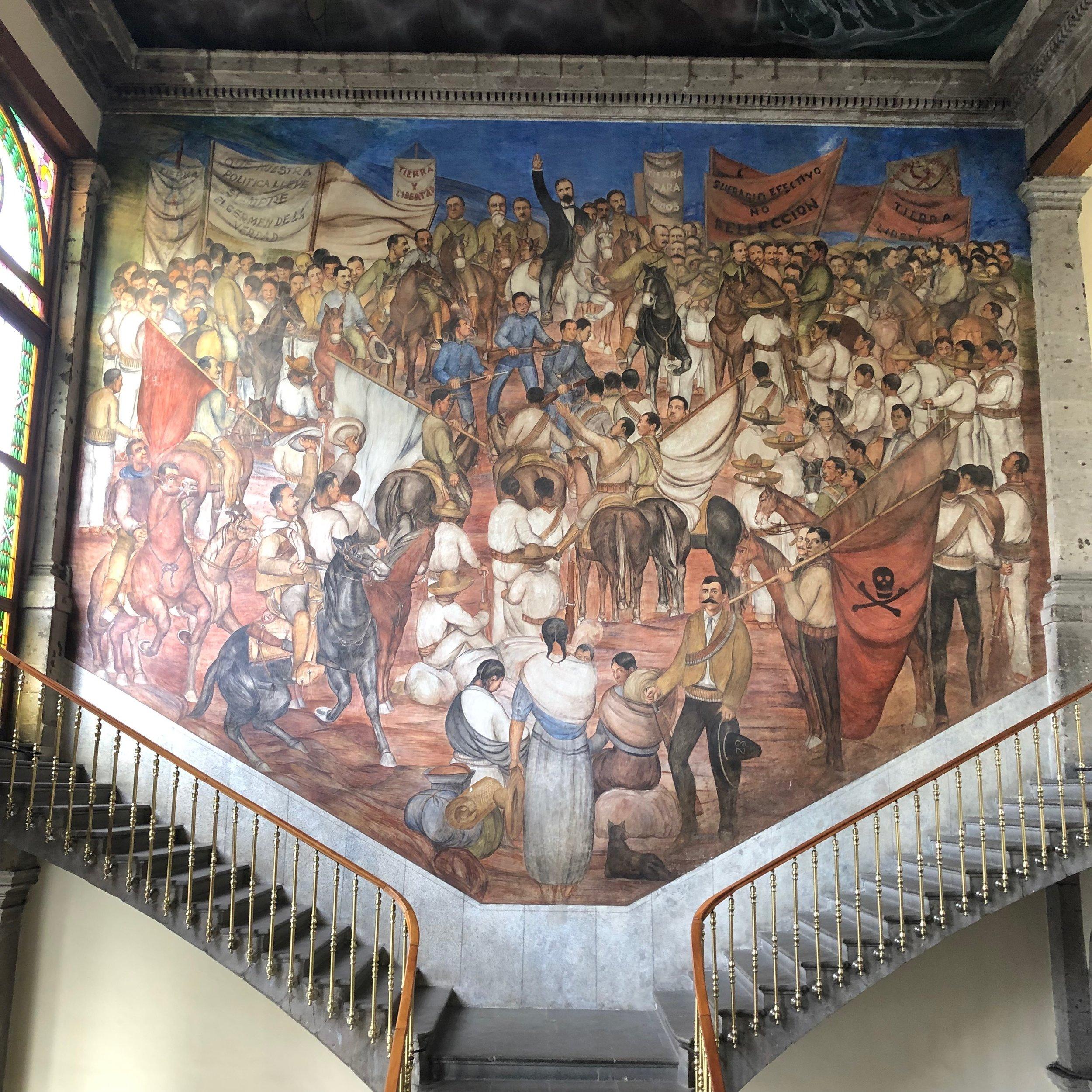 mural of Eduardo Solares