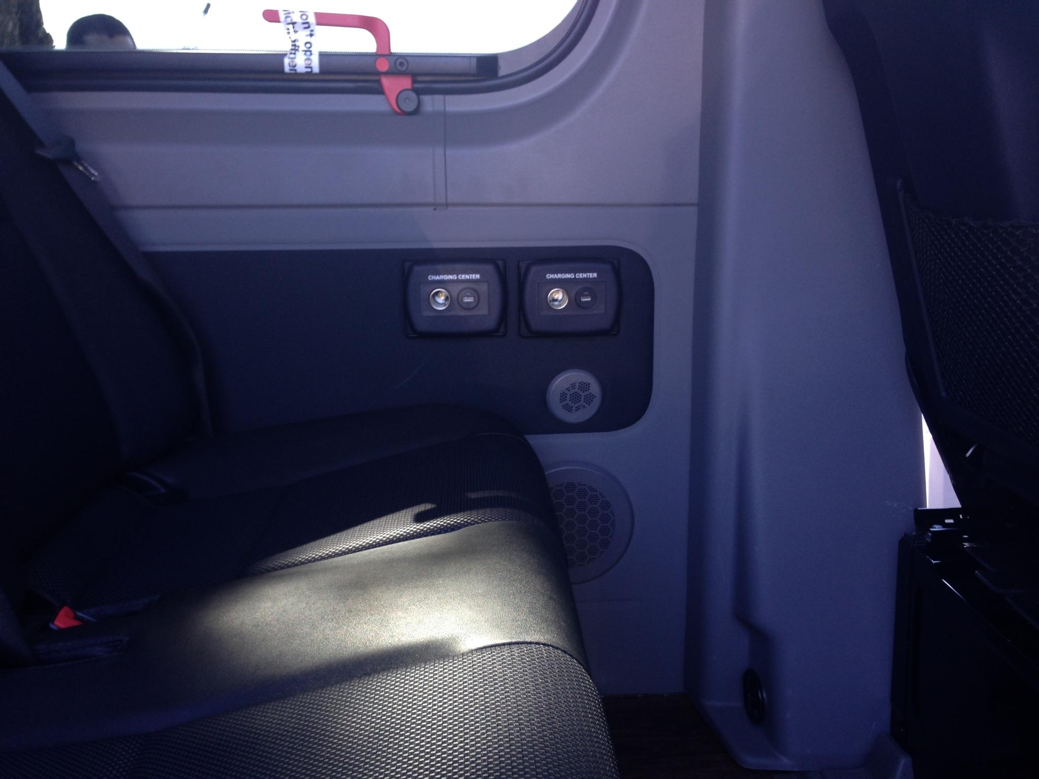 Mercedes Sprinter - Charging Ports