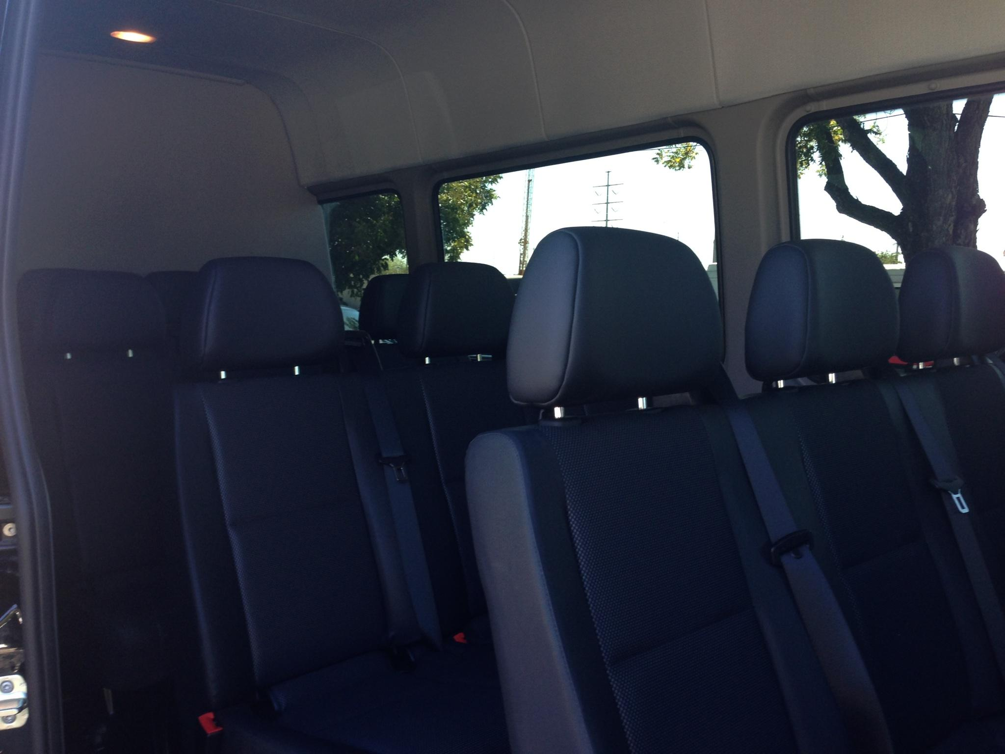 Mercedes Sprinter - Interior