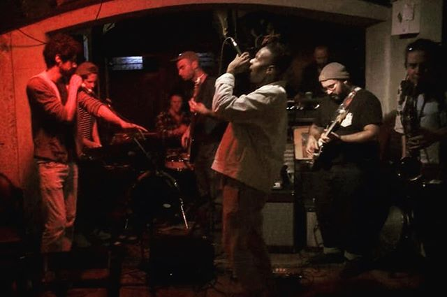 From this week's #Hiphopalypse show. Soooo much fun.  Next one is Nov 7th, come jam. . . #playallthereeds #music #musician #saxophone #sax #saxophonist #saxplayer #TenorSax #TenorSaxophone #TenorSaxPlayer  #woodwind #woodwinds #reeds #ottolink #hiphop #rap #jazzrap #jazz #funk #pop #punk @daddariowoodwinds @daddariocanada #VancouverMusic @samson_technologies @knockaround #knockfan
