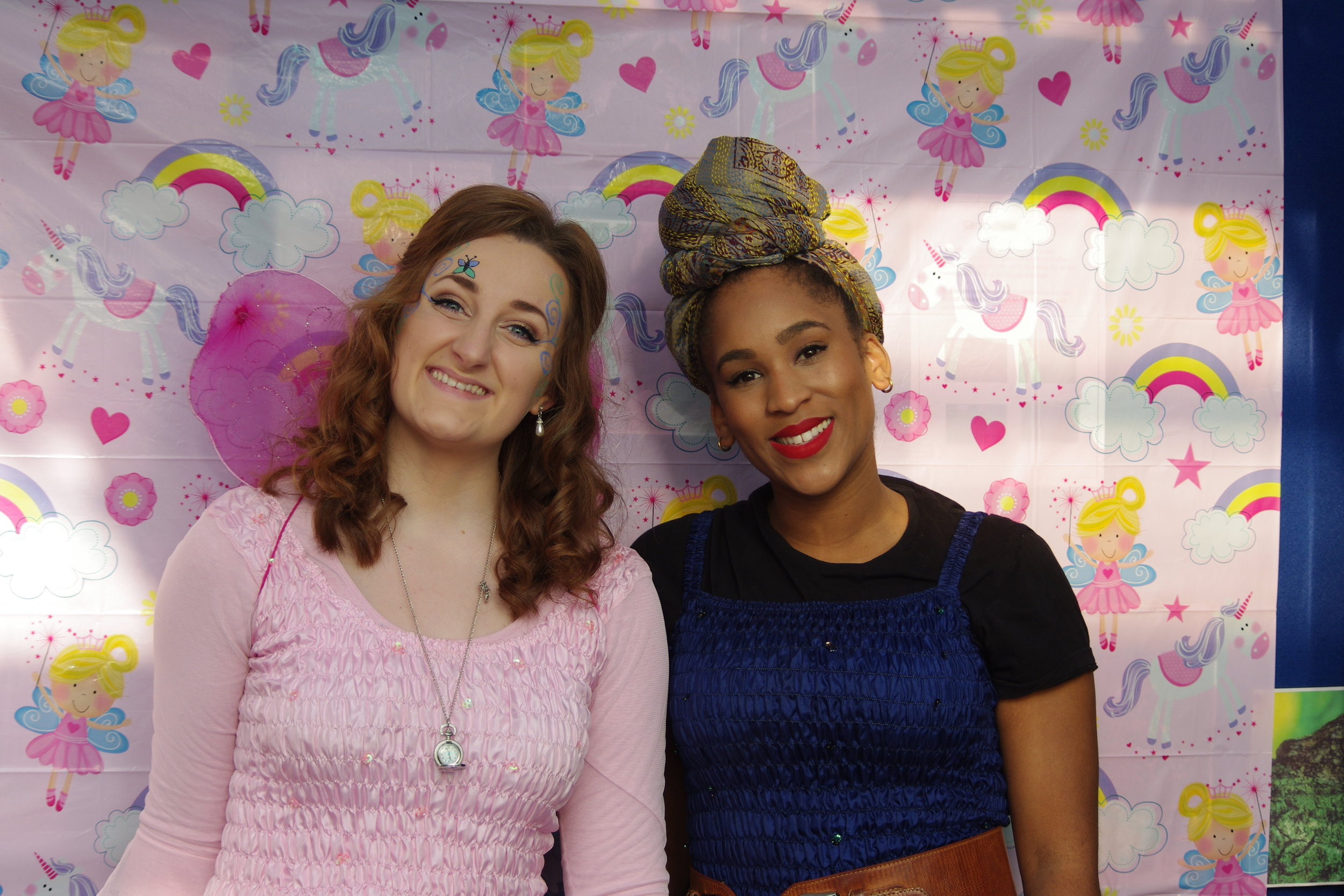 ISABEL and KAMILAH - fairy dream team!